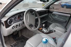 2009 bentley azure rear right passenger side door outside window trim chrome oem
