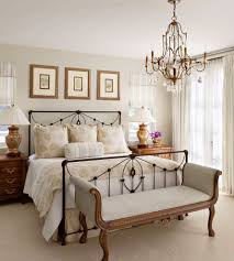 double wrought iron bed frame landscape contemporary with modern home