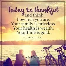 thanksgiving facebook posts today be thankful by zig ziglar