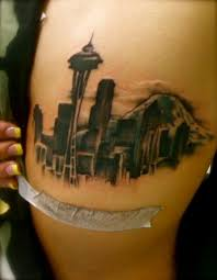 seattle skyline tattoo google search tattoos pinterest