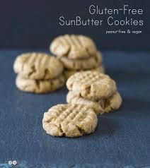 Gluten Free Sunbutter Cookies Vegan U2022 The Fit Cookie