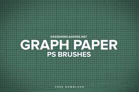 free graph paper brush set for photoshop designercandies