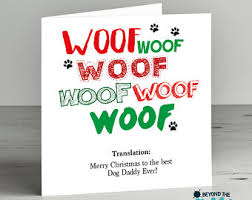card from dog etsy