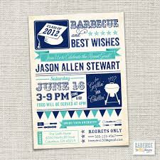 graduation party invitation bbq printable by cadencepaige on etsy