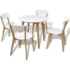 table ronde et chaises table ronde chaises de salle a manger achat vente pas cher