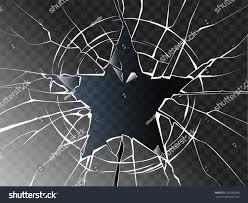 halloween spider webbing transparent background vector broken glass shattered form star stock vector 555983983