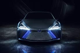 lexus concept sports car lexus ls concept is a wild autonomous luxo barge roadshow