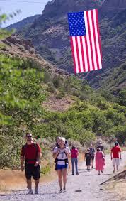 Big American Flags Big Flag Inspires At Pleasant Grove Fourth Of July Ceremony Ksl Com