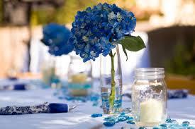 hydrangea centerpieces diy blue hydrangea centerpieces