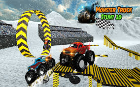 monster truck video game snow 4x4 monster truck stunt android apps on google play
