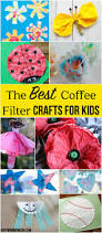best coffee filter crafts for kids