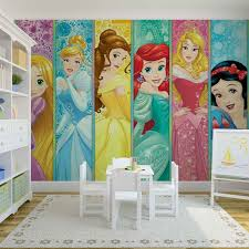disney princesses aurora belle ariel wall mural for your home price from