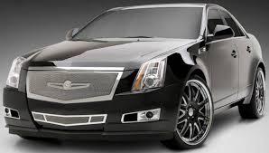 white cadillac cts black rims cadillac cts custom wheels
