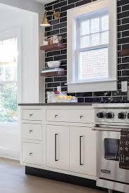 black kitchen backsplash glossy black kitchen backsplash tiles that go all the way up to