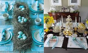 table decorations for easter how to set easter table decorations at the easter day tips and ideas