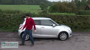 suzuki suzuki swift hatchback review carbuyer youtube