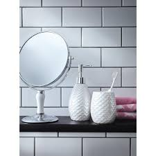 Iridescent Bathroom Accessories Range Bathroom Accessories