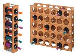 Wood Wine Cabinet Stackable Wood Wine Rack Home