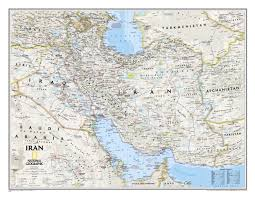 World Map Iran by Iran Wall Map Asia Countries Maps Asia Wall Maps