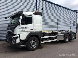 volvo trucks uk volvo fmx 6x2 koukkulaite hook lift trucks for rent mascus uk