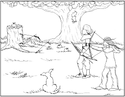 indian coloring pages for thanksgiving 2391