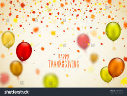 thanksgiving day poster design autumn greeting stock vector