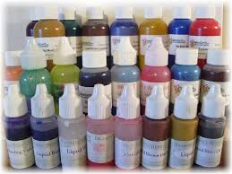 non bleeding colorants and food coloring