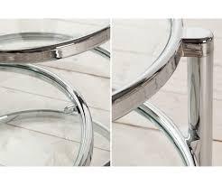Wohnzimmertisch Versch Ern Couchtisch Aus Glas Und Metall Excellent Couchtisch Rund