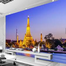 popular asian wall murals buy cheap asian wall murals lots from custom south asian wallpaper mural thailand gold build living room bedroom tv background wall papers home