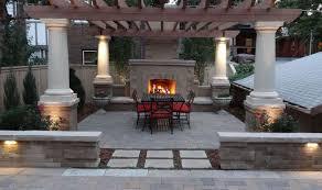 patio u0026 pergola backyard paver designs throughout wonderful