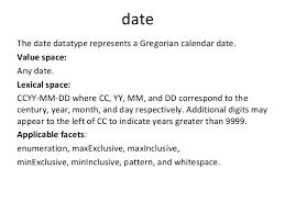 xml pattern space xml iet 2015
