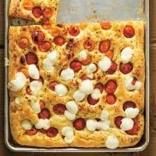 comment cuisiner les tomates focaccia aux tomates cerises ricardo