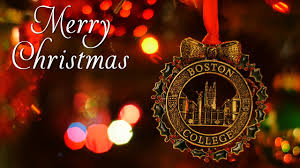 Merry Christmas Ornament Merry Christmas From Boston College Youtube