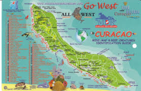 Caribbean Ocean Map by Curacao Maps 4 Maps To Navigate Curacao Vacaybuddy