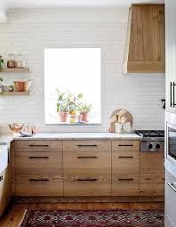 stained kitchen cabinets with hardwood floors see how wood cabinets wow in these 60 kitchens bathrooms