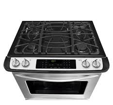 Slide In Cooktop Frigidaire Gallery 30 U0027 U0027 Slide In Gas Range Stainless Steel Fggs3065pf