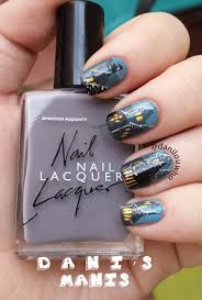 harry potter nail art dani u0027s manis