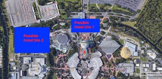 Map Of Epcot Rumor Is Disney Planning A New Epcot Resort Ziggy Knows Disney