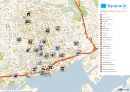 free printable map of toronto attractions free tourist maps
