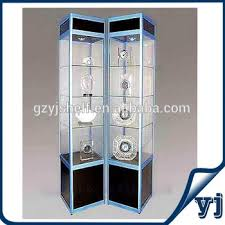 lockable glass display cabinet showcase lockable glass display cabinets living room showcase corner design