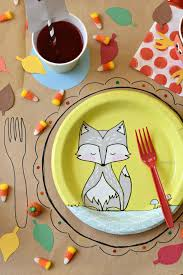 Thanksgiving Table Ideas by Kids Thanksgiving Table Ideas Fork And Beans