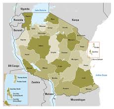 Map Of Tanzania Africa by How Will Tanzanians Vote On Sunday 25 October The Battle For