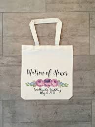 bridal party tote bags chic etsy finds bridal party tote bags