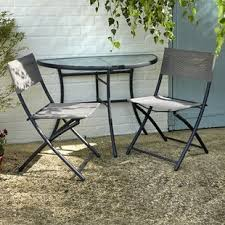 space saving tables and chairs wayfair co uk