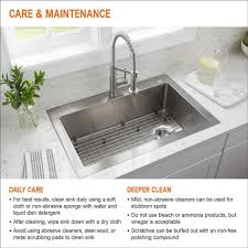 what size undermount sink fits in 30 inch cabinet all in one undermount stainless steel 27 in single bowl kitchen workstation sink with accessories kit