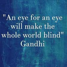 An Eye For An Eye Will Make The World Blind Instagram Gallery U2013 Salon Static Las Vegas