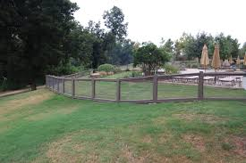woven wire fence around pool grounds u0026 facility design