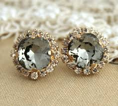 diamond earrings on guys earrings awesome black diamond earrings studs women s black