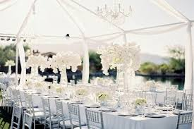 wedding reception decoration 20 pretty all white reception decor aisle