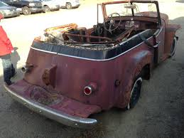 willys jeepster bangshift com 1950 willys jeepster